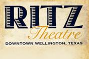 Logo: Ritz Theater | Downtown Wellington, Texas