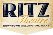 Logo: Ritz Theater | Downtown Wellington, Texas