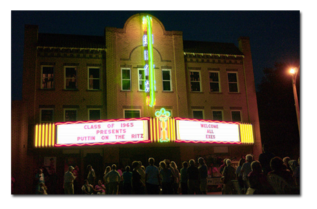 Ritz Theatre :: Downtown Wellington, Texas